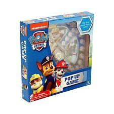 Nickelodeon Paw Patrol Pop Up Game Free Shipping
