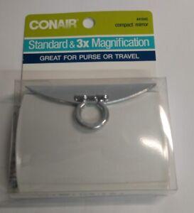 Conair Compact Mirror, Standard & 3X Magnification #41945