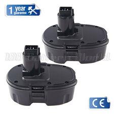 2x Ni-MH 3AH Battery for 18V 18Volt 3.0Ah DEWALT DC9096 DE9503 DW9098 DW9095 UK