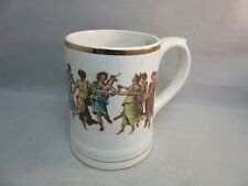 Vtg Gift Ideas Creation Dancing Greek Goddesses ceramic mug