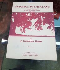 SWINGING IN FAIRYLAND PIANO  SHEET MUSIC