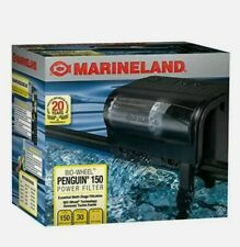 MARINELAND PENGUIN POWER FILTER 20 to 30 Gallon 150 GPH AQUARIUM *Free Shipping*