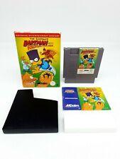 Nintendo NES The Simpsons Bartman Meets Radioactive Man PAL B