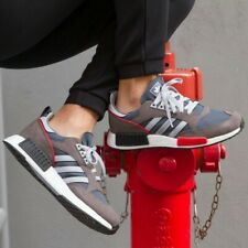BNWB & Genuine Adidas Originals ® Boston Super x R1 Trainers Bold Onix UK Size 9