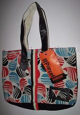 NWT Parcel Cotton Canvas Carryon Shopper Tote Bag  Purse Shopping Loop NYC
