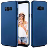 Samsung Galaxy S7 Edge Hülle Tasche Case Cover Handy Backcover Handyhülle Blau