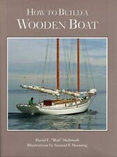 How to Build a Wooden Boat, McIntosh, David C., Good Condition, Book