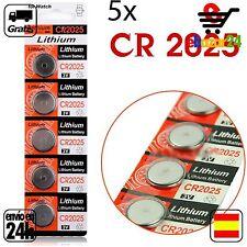 5x CR 2025 PILAS pila de botón baterías 3 V boton bateria CR2025 CR 2025 DL2025