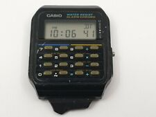 Vintage Casio Calculator Watch CA-55, Alarm / Chrono, Korean Made Model