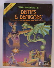 Dungeons Dragons Deities and Demigods Book 1984 1980 128 Pages AD&D WARD  617