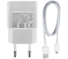 Original Huawei Ladegerät Netzteil Ladekabel Y3 Y5 Y6 II 2 Compact DualSim weiss