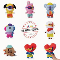 BT21 Bon Voyage Standing Doll 15cm Summer Limited Edition Authentic K-POP Goods