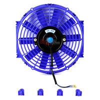 "For Mitsubishi 10/"" Eletric Fan 1550 Cfm Reversible Intercooler Radiator Cool Red"