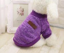 Hundebekleidung Hundepulli Pullover Hoodie Chihuahua Lila Yorky XS Pulli T Shirt