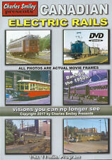 Canadian Electric Rails Trolley, Traction, Interurban Charles Smiley DVD