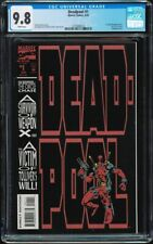 Deadpool Circle Chase #1 CGC 9.8 White 1st solo book Liefeld New Mutants 98 1993