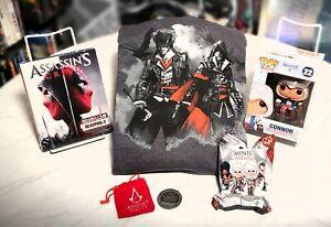 LOOT CRATE / NERD BLOCK - ASSASSIN'S CREED - DVD FUNKO POP! SWEATSHIRT (SM)