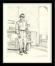 Ted BENOIT AFFICHE SIGNÉE RAY BANANA - 222 ex. n°/signés