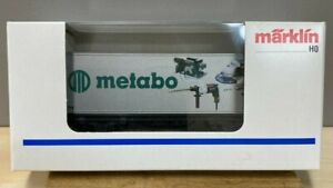 """Marklin  94063  Container car """"METABO"""".   Mint"""
