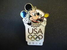 DISNEY USA OLYMPIC LOGO MICKEY MOUSE PIN