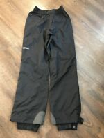 Vintage Descente Entrant Nylon Snow Zip Off  Snowboard Ski Pants Black Mens 34
