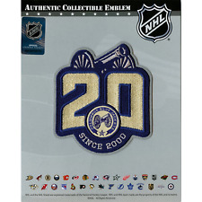 Columbus Blue Jackets 20th Anniversary Jersey Patch Alternate Version (2020-21)