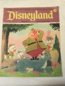 Vintage 1974 No 90 Disneyland Disney Magazine Young Readers Stories Cartoons