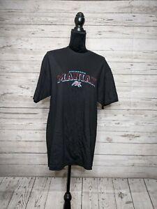 Vintage XFL Memphis Maniax WWE WWF Vince Mcmahon Football Shirt Deadstock LG