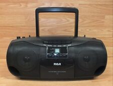 Genuine Rca (Rp7936A) Black Cd / Cassette Player With Am/Fm Radio *Read*