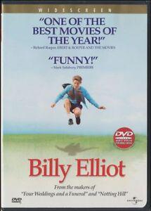 Billy Elliot (DVD, 2001, Canadian, Widescreen) Julie Walters