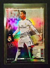 2014-15 Panini WCCF Stars of Club Cristiano Ronaldo refractor card Real Madrid