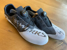 Specialized S-WORKS EXOS Road Cycling Shoes White Black Size 45 EU 11.5 US NEW!