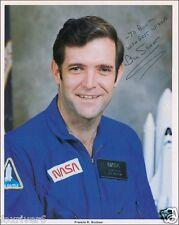 FRANCIS SCOBEE Signed Photograph - NASA Astronaut - Shuttle Challenger -Preprint