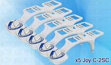 5 Pack Joy Bidet Toilet Attachment Self-Cleaning Metal Hoses Clean Fresh Water