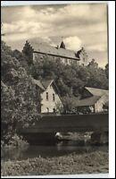 Kranichfeld Thüringen DDR Postkarte 1964 Blick zur Niederburg  ungelaufen