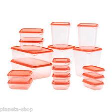 Set contenitori per alimenti Trasparenti 17 PZ Come TUPPERWARE ikea PRUTA