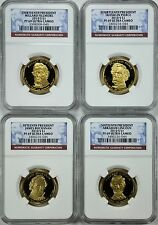 2010-S PRESIDENTIAL 4-COIN PROOF SET NGC PF69 ULTRA CAMEO