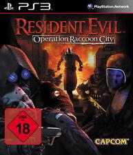 Sony Playstation 3 Spiel - Resident Evil: Operation Racoon City (mit OVP)(USK18)