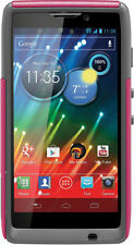 NEW OtterBox 77-20144 Commuter Case for Motorola RAZR HD (Thermal -Pink/ Grey)