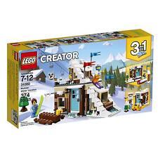 LEGO® Creator Modular Winter Vacation Building Play Set 31080 NEW NIB