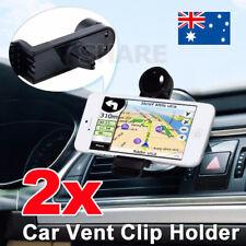 2X Universal Car Air Vent Phone Holder GPS Bracket for iPhone 6 7 Plus Samsung