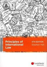 Principles of International Law by Stephen Hall (Paperback, 2013)