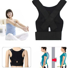 Adjustable Posture Correction Full Back Shoulder Support Lumbar Waist Brace Belt