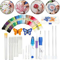 DIY Embroidery Stitching Punch Needle Tool Stitching Punch Pen With Case Sets YK