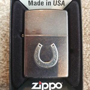 Zippo Lighter Genuine Horse Shoe Lighter
