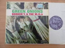 BOOKER T. & THE MG's ~ GREEN ONIONS - UK PURPLE STAX LONDON LP ALBUM - 1964