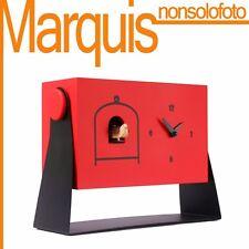 """orologio a cucù art.152 3002 """" mi dondolo """" Pirondini  6 colori disponibili"""