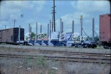 Original train slide FPBX Federal Paper Board flat 5, 1978