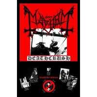 Mayhem Deathcrush Fabric Poster Flag Official Black Metal Textile Wall Banner