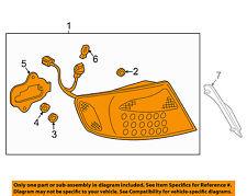 Infiniti NISSAN OEM 05-06 G35-Taillight Tail Light Lamp Assy Right 26550AC725
